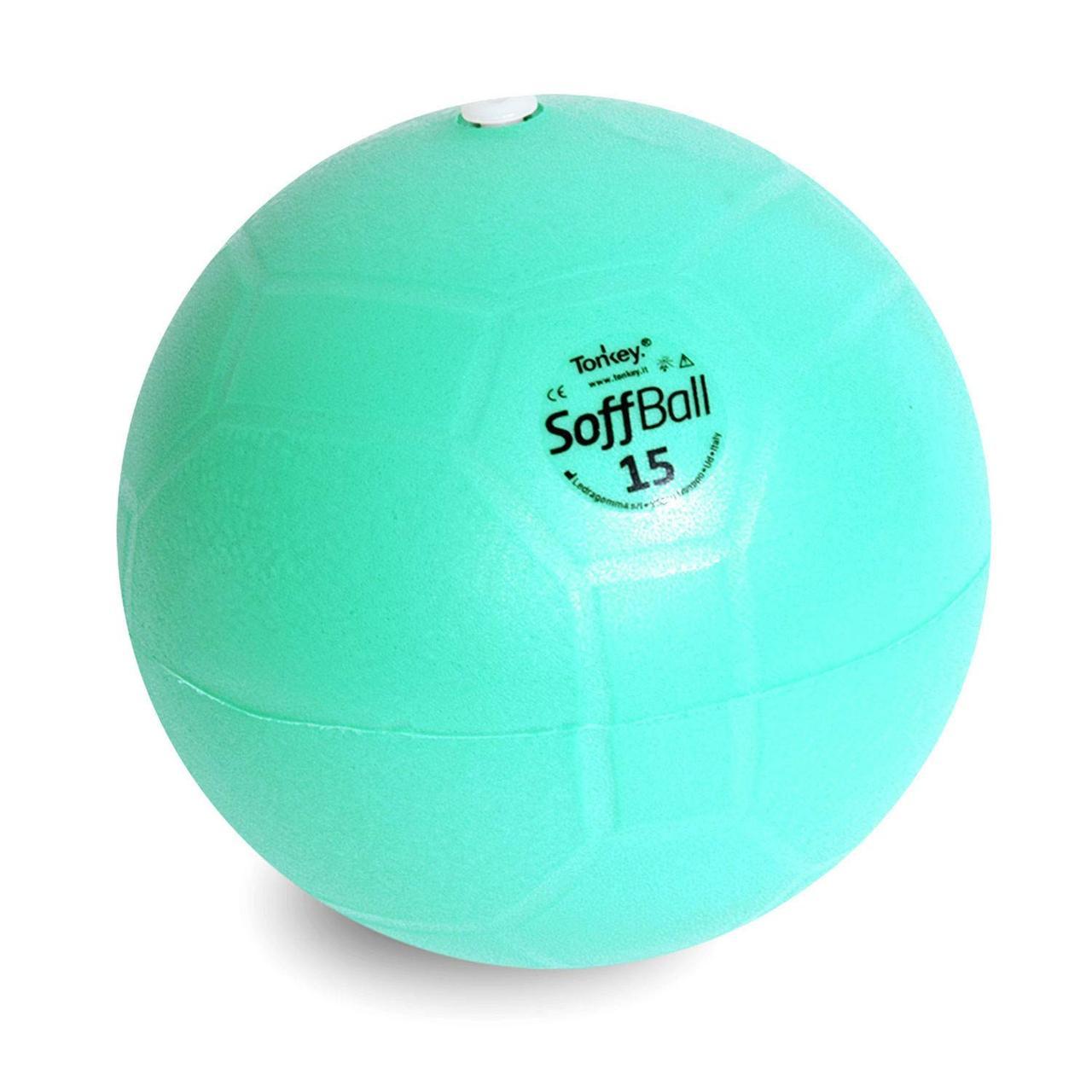 Фитнес оборудование: Мяч Ledragomma Soffball Maxafe 15 см