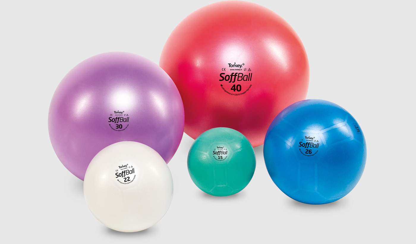 Фитнес оборудование: Мяч Ledragomma Soffball Maxafe 26 см