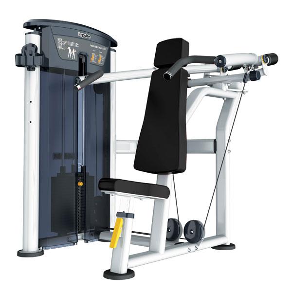 Грузоблочные тренажеры: Жим сидя вверх IMPULSE Evolution Shoulder Press