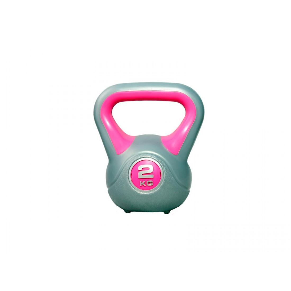 Гантели, гири: Гиря LiveUp PLASTIC KETTEL BELL 2 кг