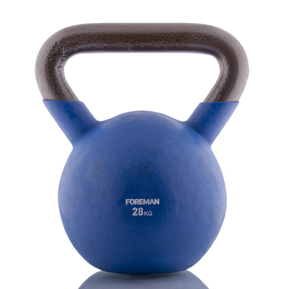 Гири: Гиря в неопреновой оболочке Foreman 28 кг
