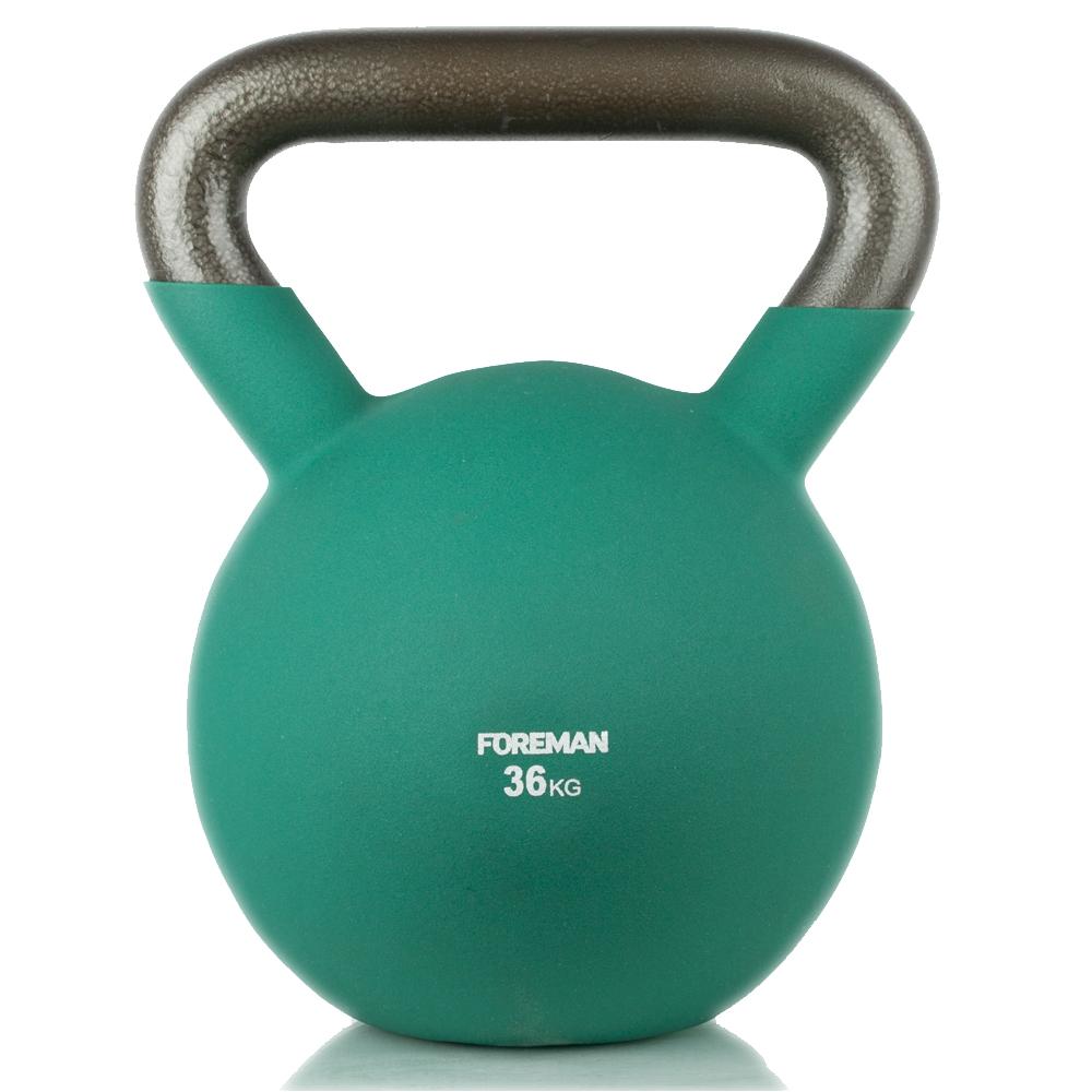 Гири: Гиря в неопреновой оболочке Foreman 36 кг