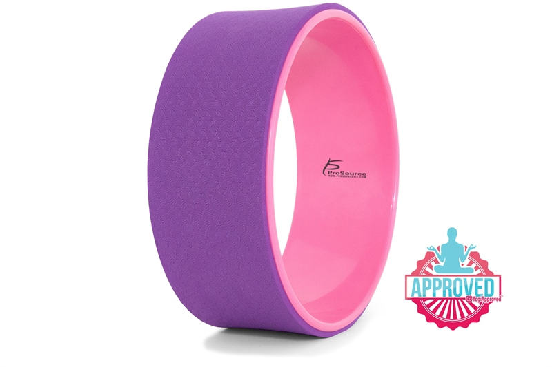 Йога: Колесо для йоги Prosource фиолетовое/розовое
