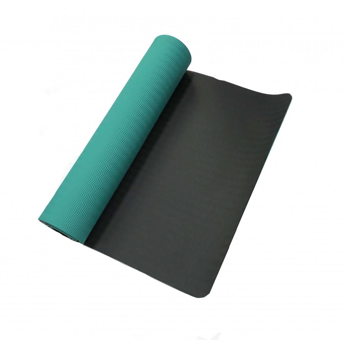 Йога: Коврик для йоги LiveUp TPE YOGA MAT зеленый
