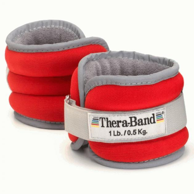 Утяжелители: Утяжелители на щиколотку/запястье Thera-Band Comfort Fit 2х450 г