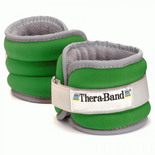Утяжелители: Утяжелители на щиколотку/запястье Thera-Band Comfort Fit 2х680г