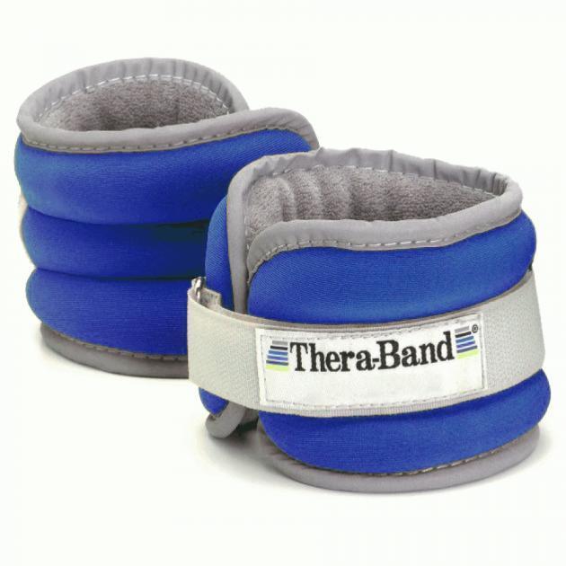 Утяжелители: Утяжелители на щиколотку/запястье Thera-Band Comfort Fit 2х1130 г