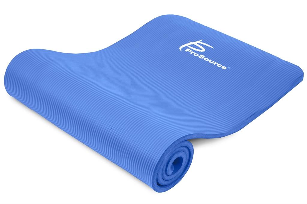 Коврики: Коврик Prosource Extra Thick Yoga Pilates Blue