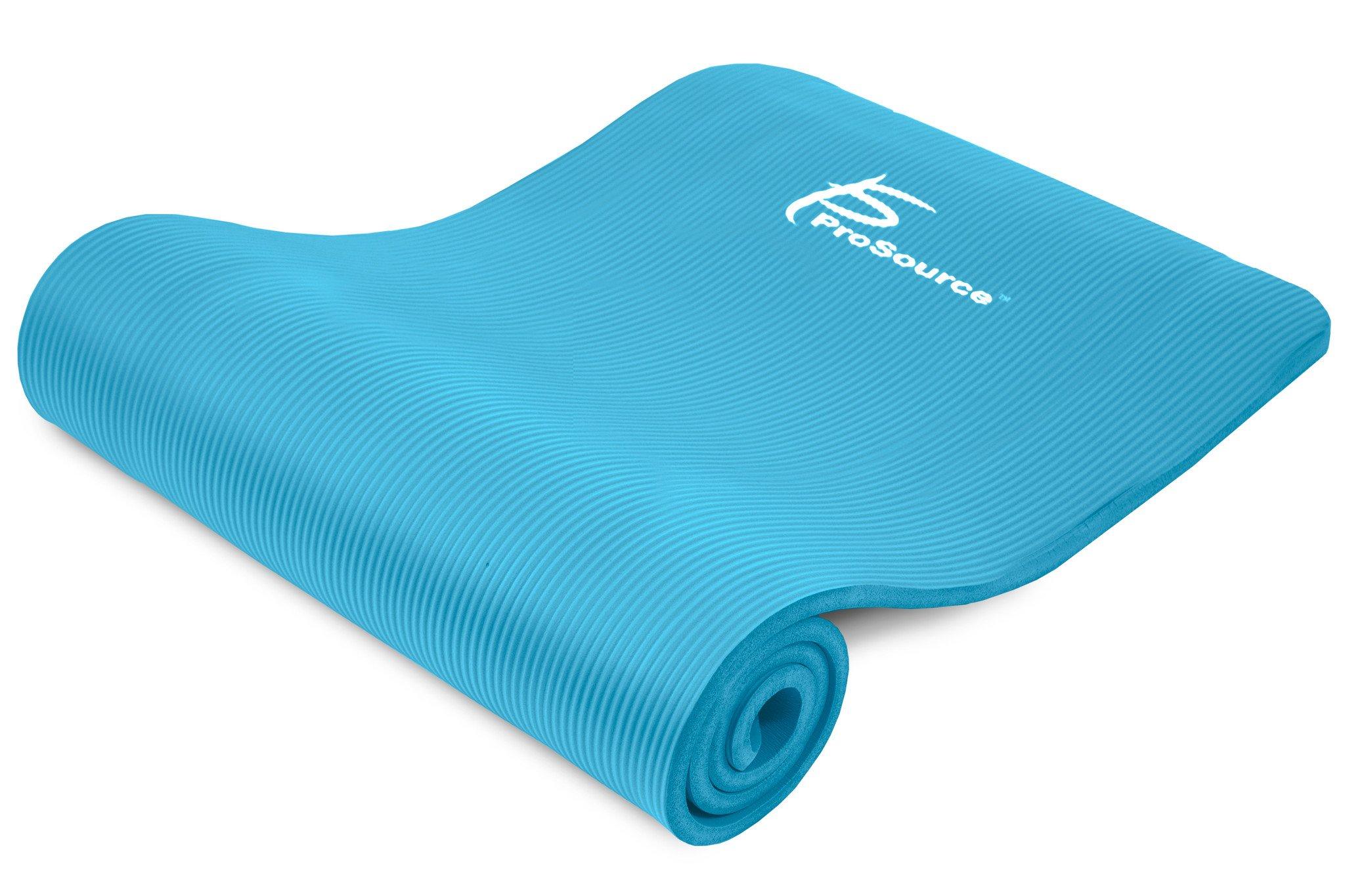 Коврики: Коврик Prosource Extra Thick Yoga Pilates Aqua