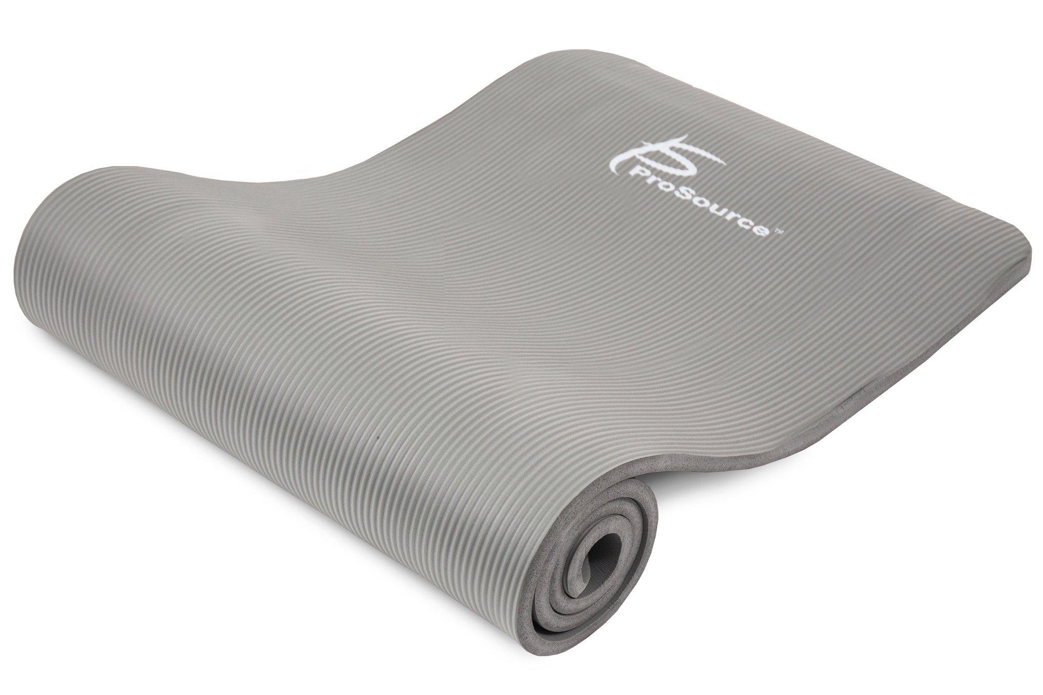 Коврики: Коврик Prosource Extra Thick Yoga Pilates Grey