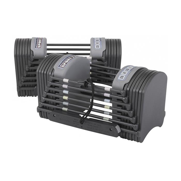 Гантели, гири: Наборные гантели PowerBlock Sport 2.4 (1,5-11 кг)