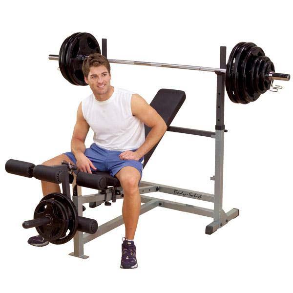 Скамьи для жима: Универсальная скамья для жима Body-Solid GDIB-46