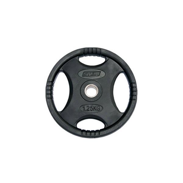 Диски: Диск обрезиненный черный Stein 1,25 кг
