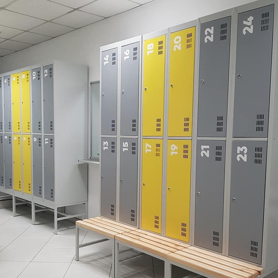 Шкафы: Шкаф для раздевалки Эконом