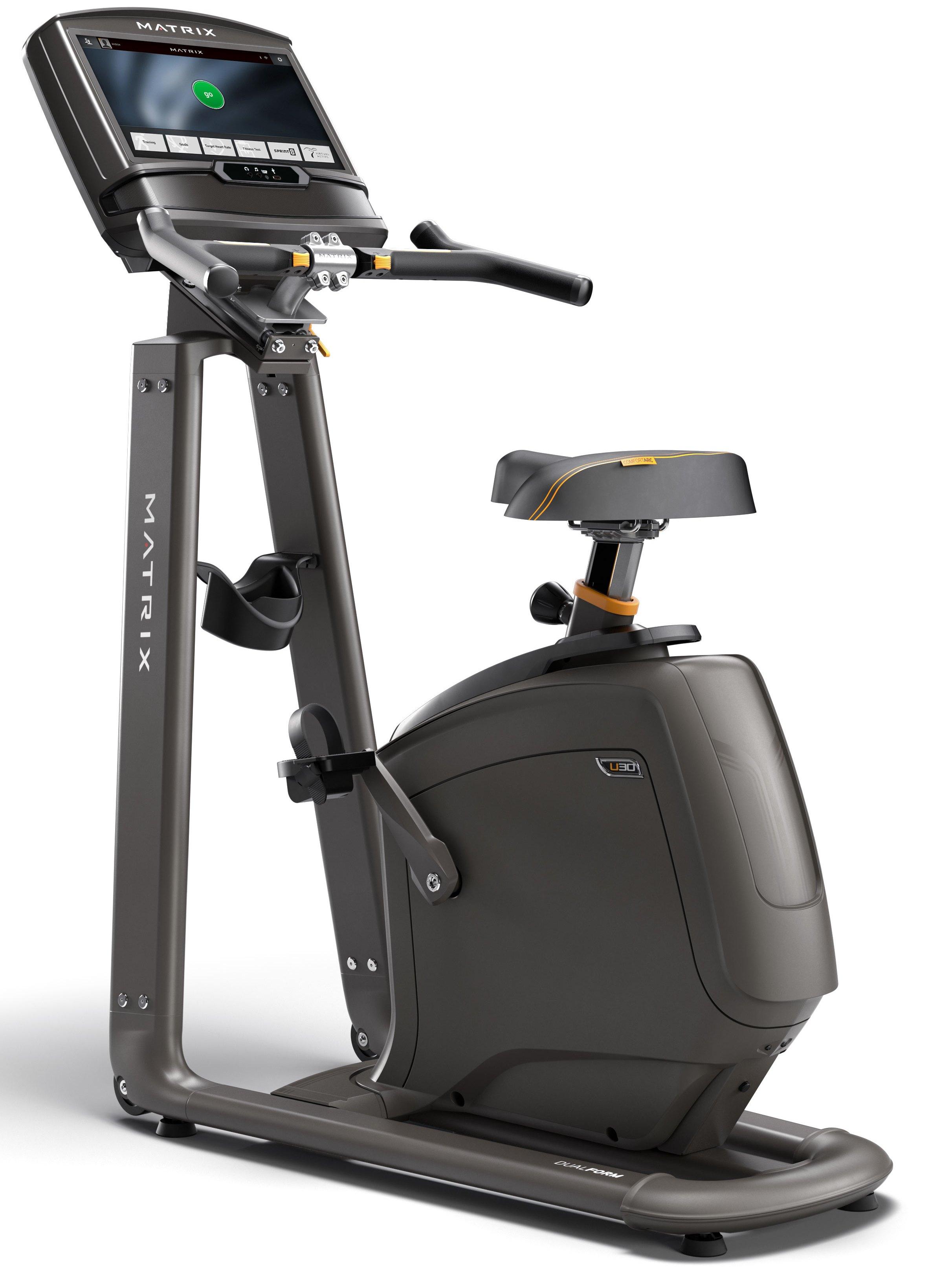 Вертикальные велотренажеры: Велотренажер Matrix U30 XIR