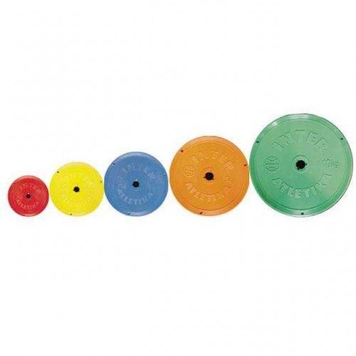 Диски: Диск InterAtletika цветной 1 кг