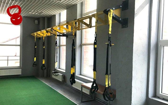 TRX / Функциональный тренинг / Кроссфит: TRX-ферма пристенная