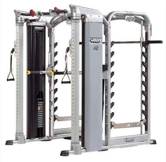 Фитнес-станции: Комплекс для функциональных тренировок HOIST Mi7Smith