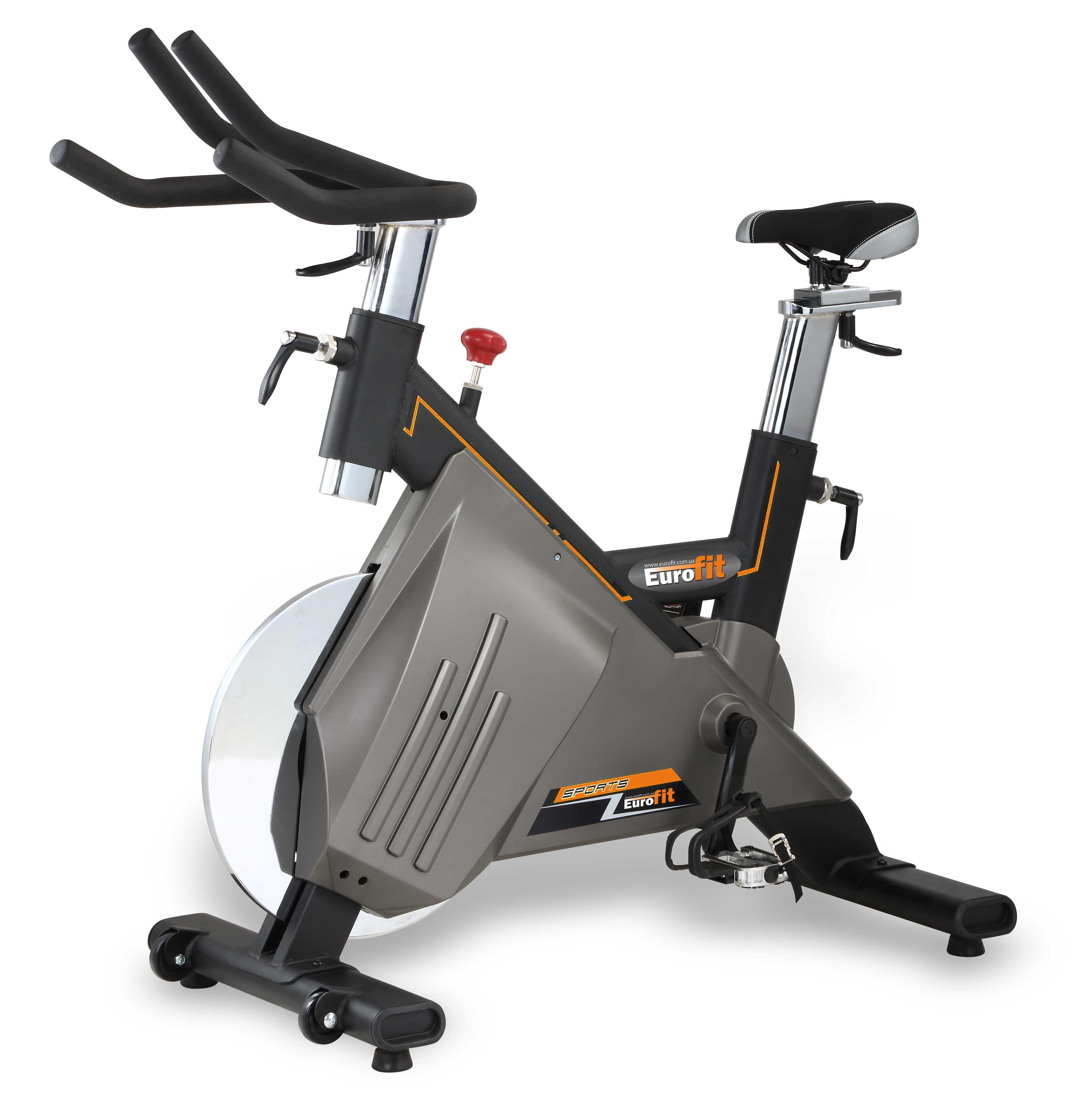 Сайклы (велосипеды для групповых занятий): Спин-байк Eurofit 8605