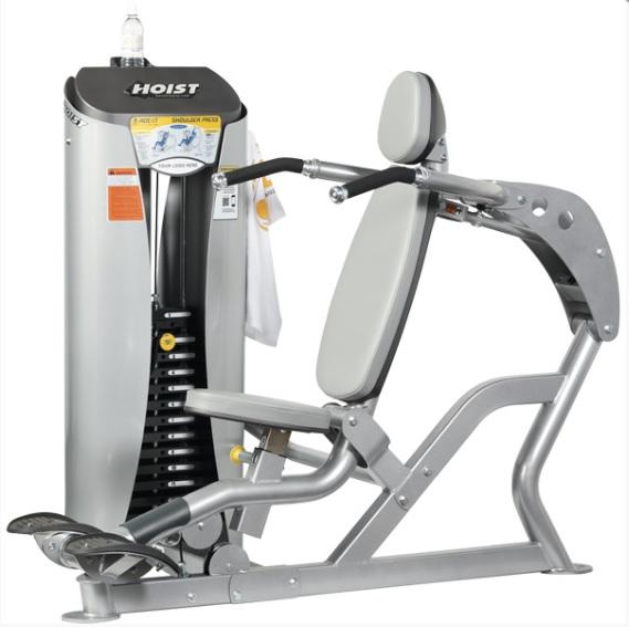 Грузоблочные тренажеры: Жим от плеч HOIST ROC-IT RS-1501