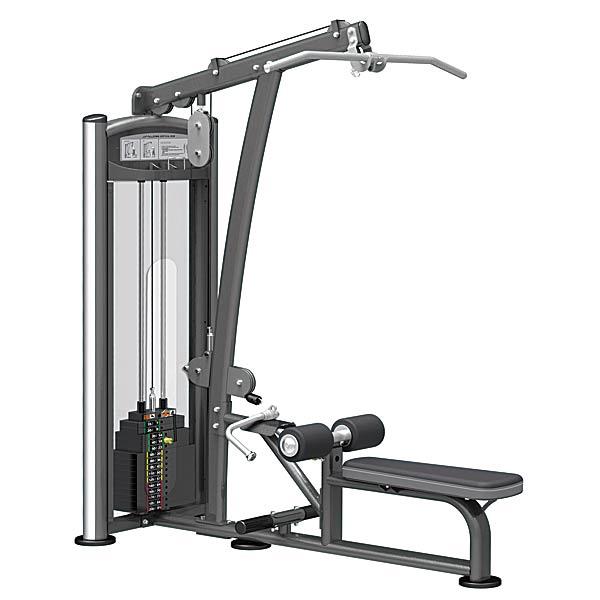 Грузоблочные тренажеры: Комбинированная Верхняя-нижняя тяга IMPULSE Lat Pulldown-Row Machine