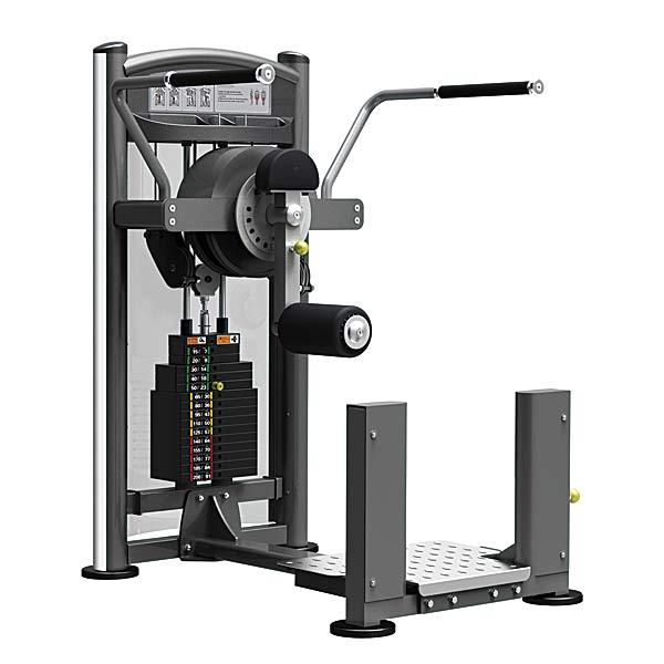 Грузоблочные тренажеры: Тренажер для приводящих-отводящих и ягодичных мышц бедра стоя IMPULSE Total Hip Machine
