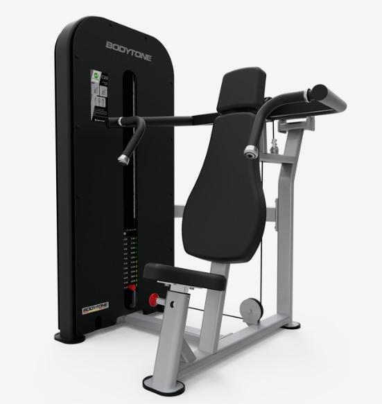 Грузоблочные тренажеры: Жим от плеч BODYTONE серия Compact C20