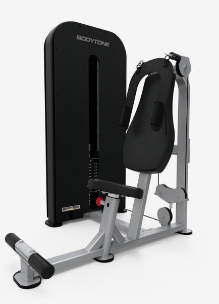 Грузоблочные тренажеры: Пресс машина BODYTONE серия Compact C40