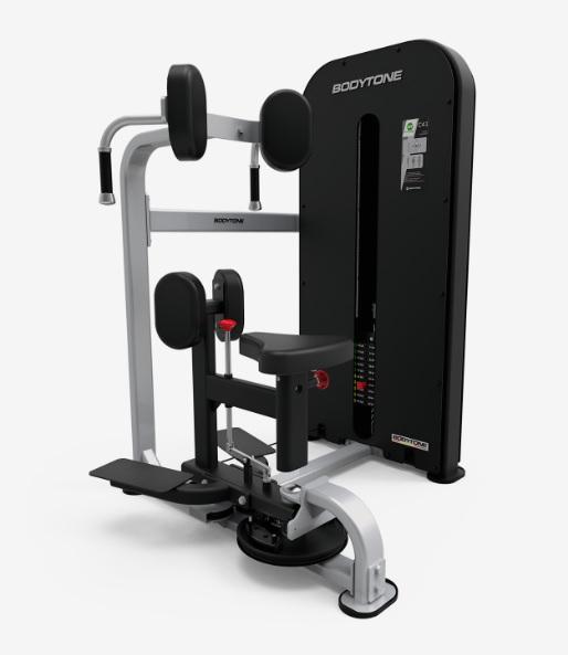 Грузоблочные тренажеры: Твистер машина BODYTONE серия Compact C41