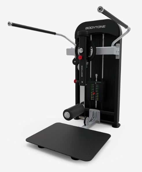 Грузоблочные тренажеры: Тренажер для приводящих-отводящих и ягодичных мышц бедра стоя BODYTONE серия Compact C58
