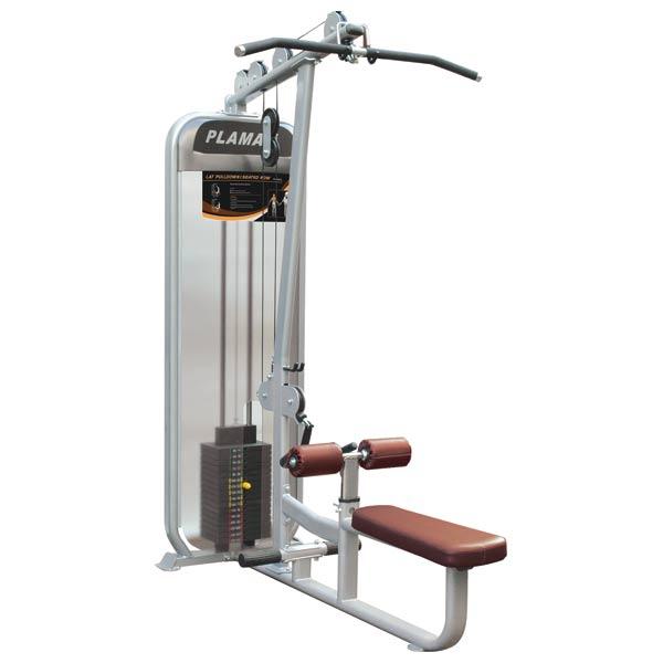 Грузоблочные тренажеры: Верхняя/Нижняя тяга IMPULSE Plamax Lat Pulldown-Vertical Row