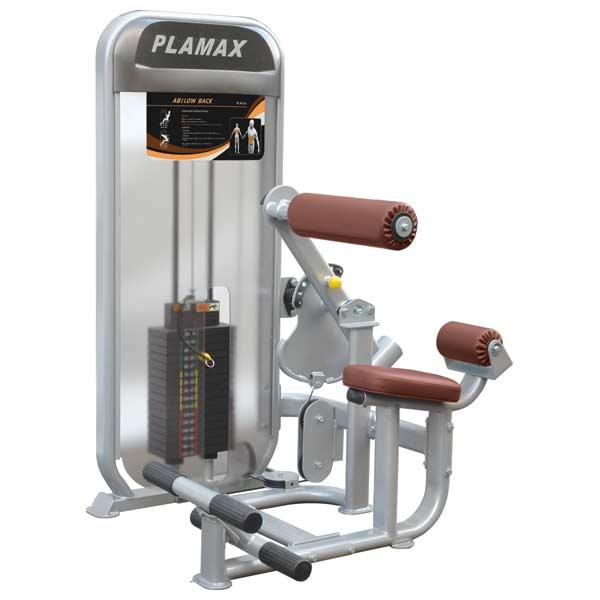 Грузоблочные тренажеры: Разгибатель спины/Пресс IMPULSE Plamax Ab-Low Back