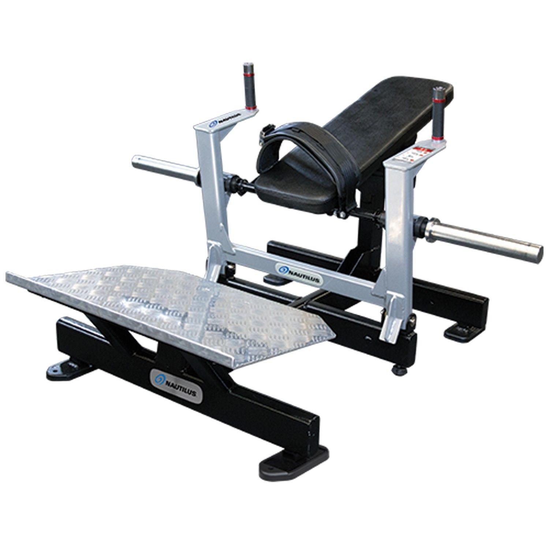 Тренажеры нагружаемые дисками: Тренажер для ягодичных мышц Nautilus Glute Drive 9NP-L1131