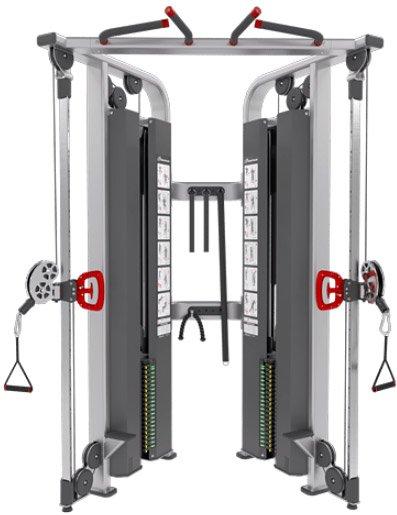 Грузоблочные тренажеры: Двойная регулируемая тяга Nautilus Inspiration IPDA2