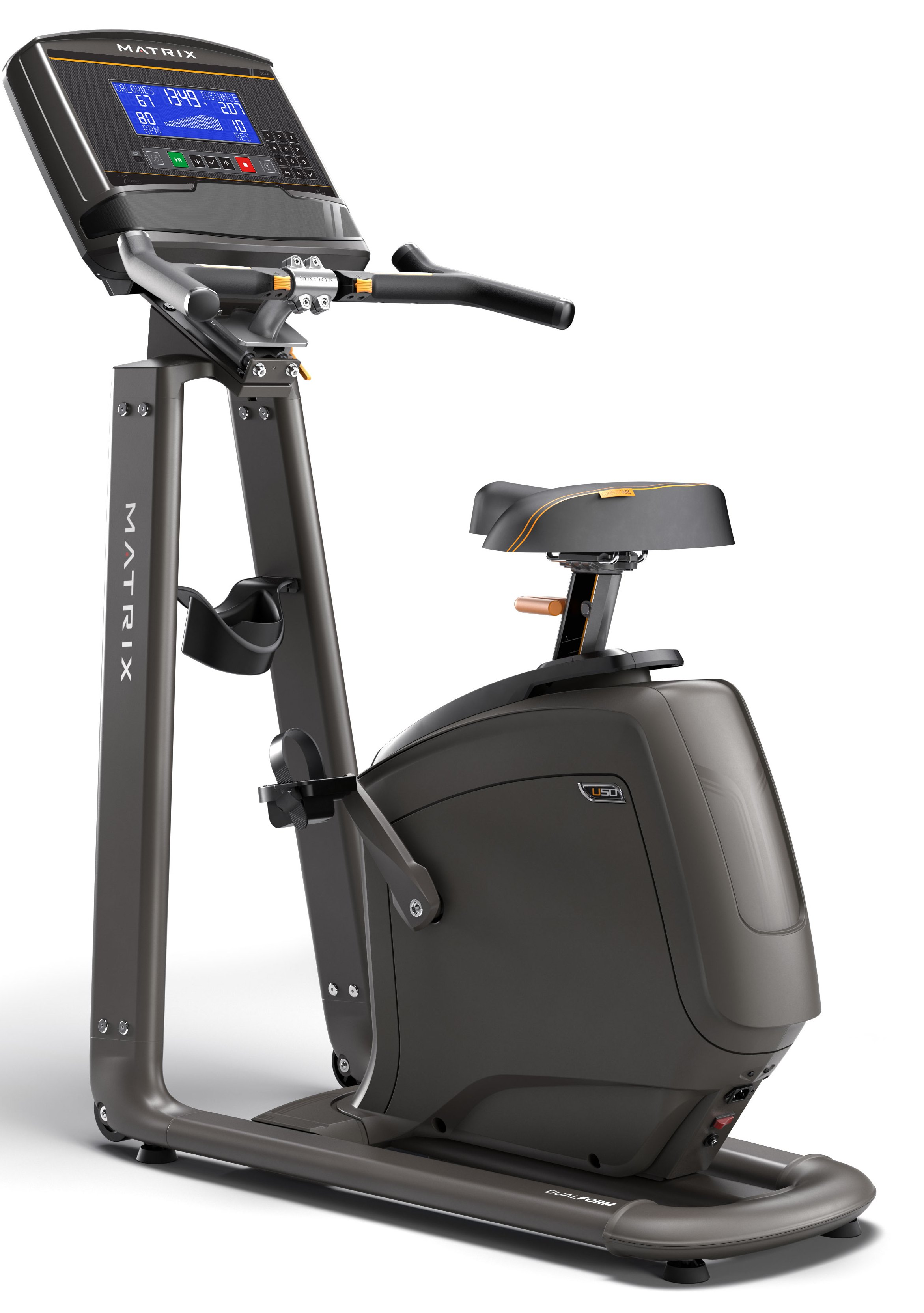 Велотренажеры: Велоэргометр вертикальный Matrix U50 XR