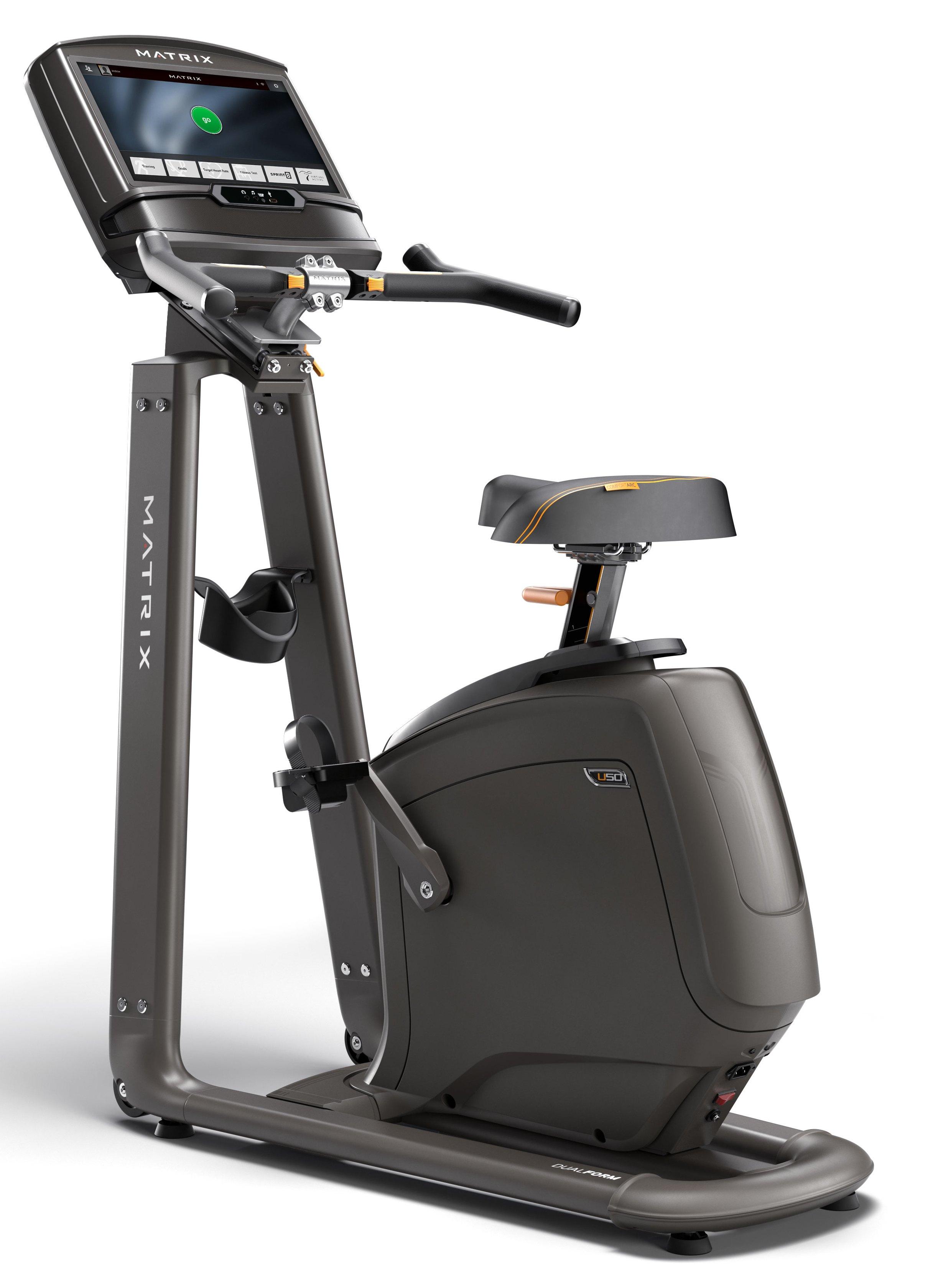 Велотренажеры: Велоэргометр вертикальный Matrix U50 XIR