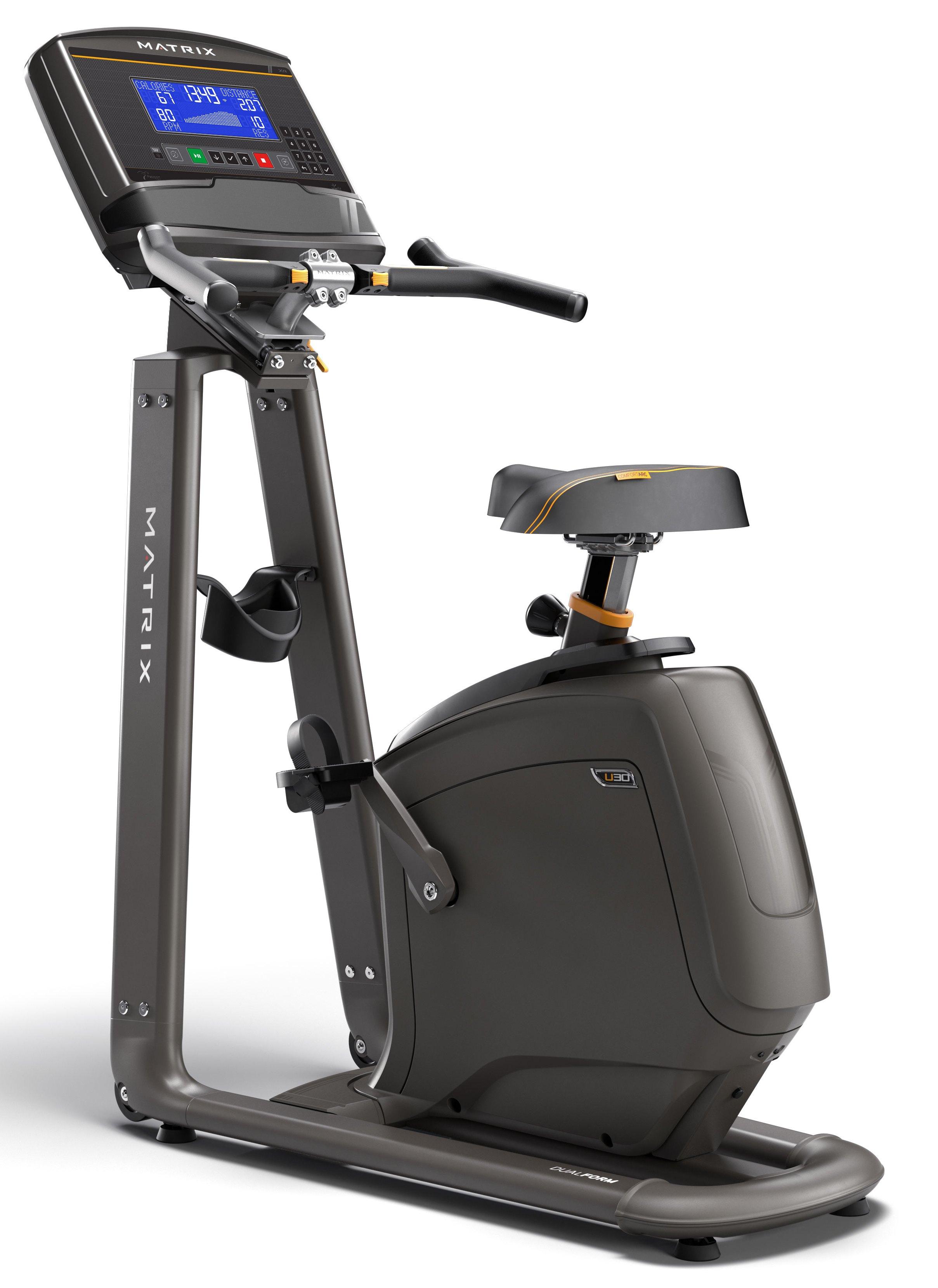 Вертикальные велотренажеры: Велотренажер вертикальный Matrix U30 XR