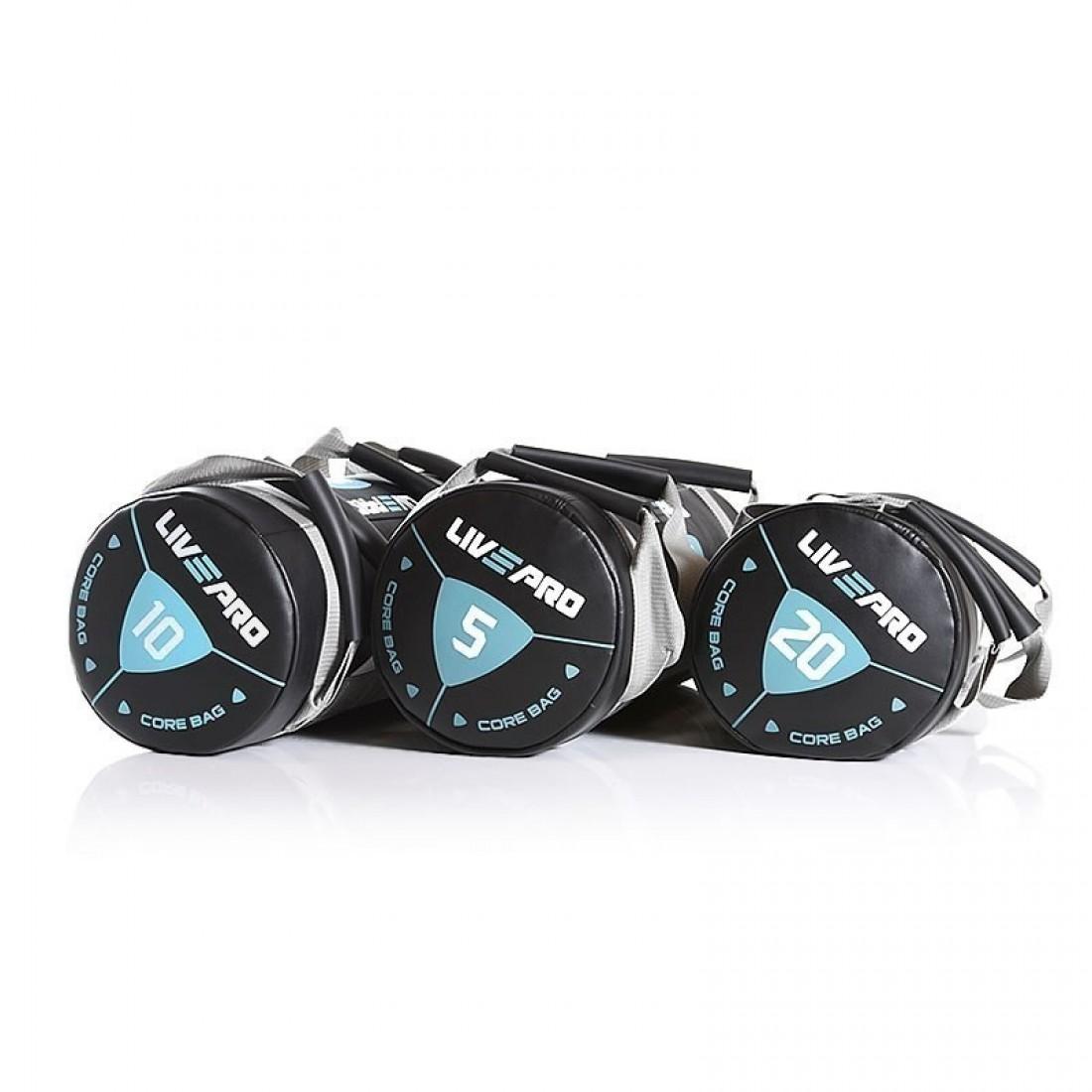 Инвентарь для кроссфит: Мешок для кроссфита LivePro POWER BAG 15 кг