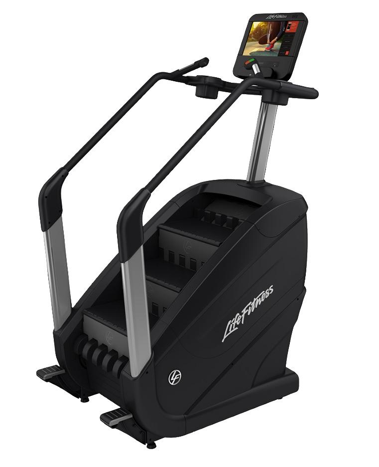Степперы б/у: Степпер лестничного типа Life Fitness PowerMill Discover SE HD